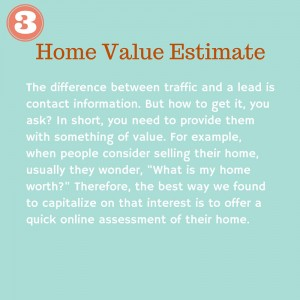#3 Home Value Estimate